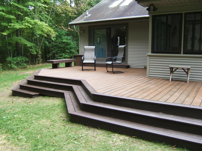 Image Result For Composite Deck Stairs